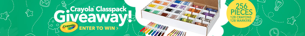 Crayola Classic Giveaway - Enter To Win
