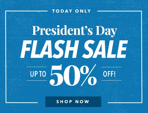 Presidents Day Flash Sale