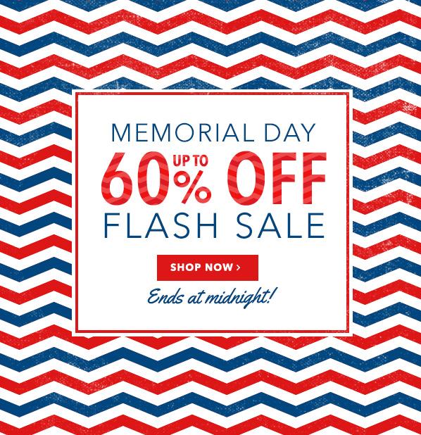 Memorial Day Flash Sale
