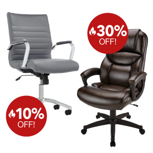 Scorching Deals on select seating
