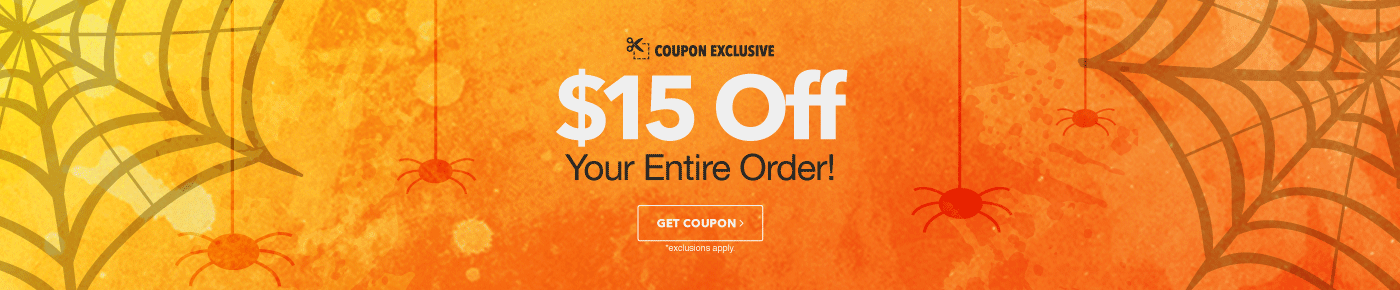 $15 Off Your Order