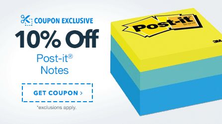 10% Off Post-it Coupon