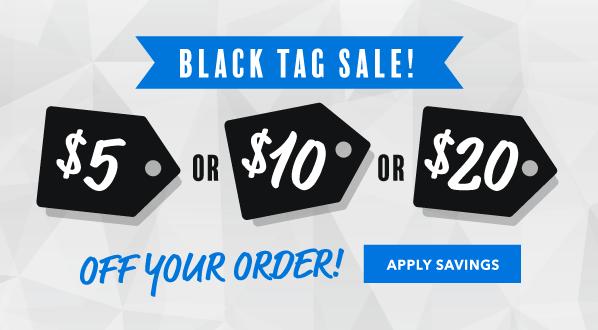 Black Tag Sale