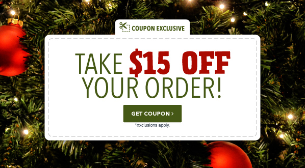 $15 off when you spend $200