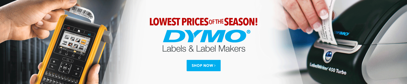 Dymo Lowest Prices of the Season
