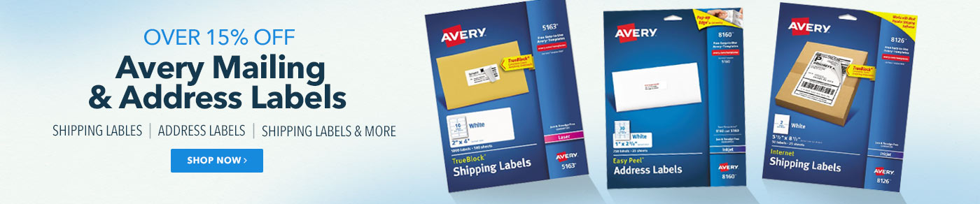 Avery Over 15% Off