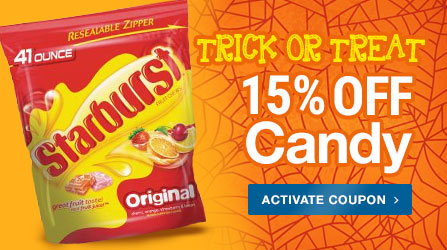 15% Off Candy