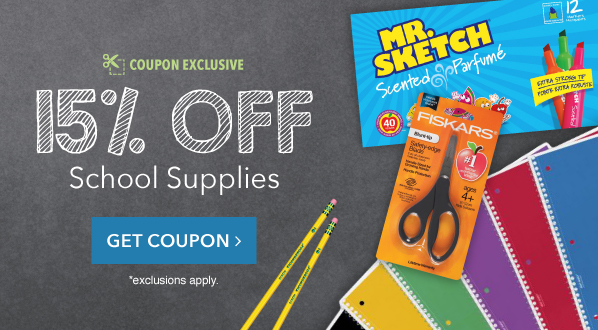 https://www.officesupply.com/school-supplies/c300000.html?redeemCoupon=12d3bbc23db644ee5630685a54455a5156554a4357513d3d46b7d58f