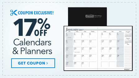 17 Off Calendars and Planners