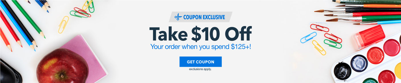 $10 Off Your Order Spend $125 or more - BTS