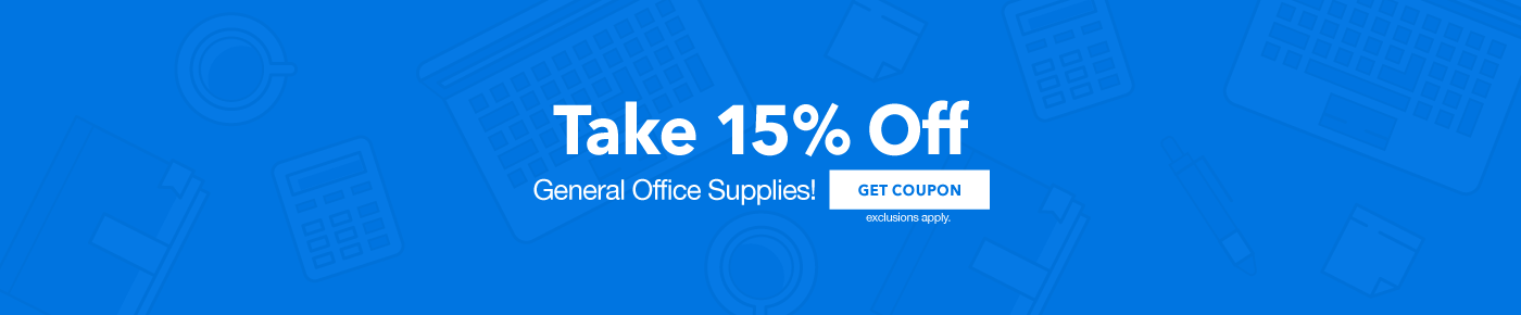 15% off General Office Supplies