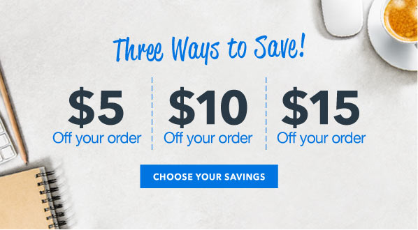 $5 Off $75, $10 Off $125, or $15 Off $150 Orders