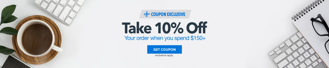 Take 10% Off When You Spend $150+