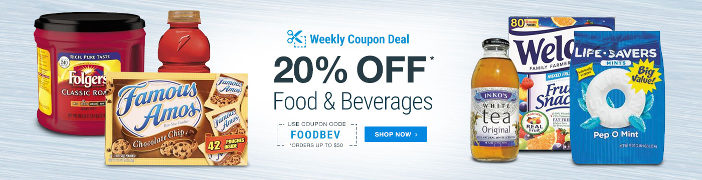 20% Off Food and Beverage