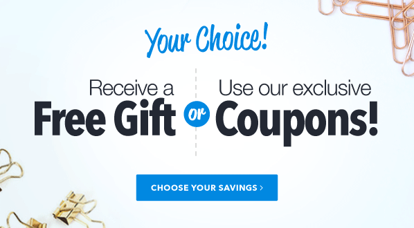Free Gift or Coupons