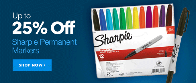 25% Off Sharpie