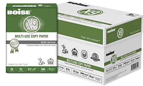 35.99 Boise X-9 10-Ream Copy Paper