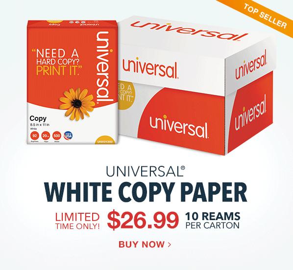 $26.99 Universal Copy Paper