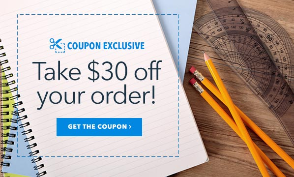 $30 Off Your Order