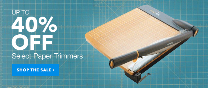 40 Off Paper Trimmers