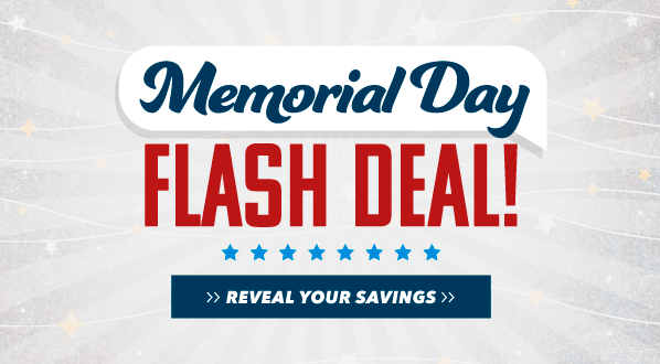Memorial Day Flash Deal
