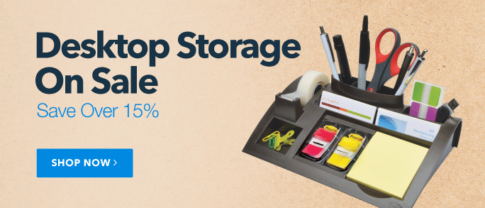 Desktop Storage on Sale