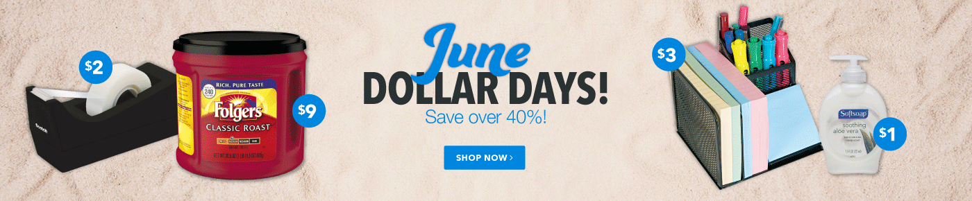 June Dollar Days