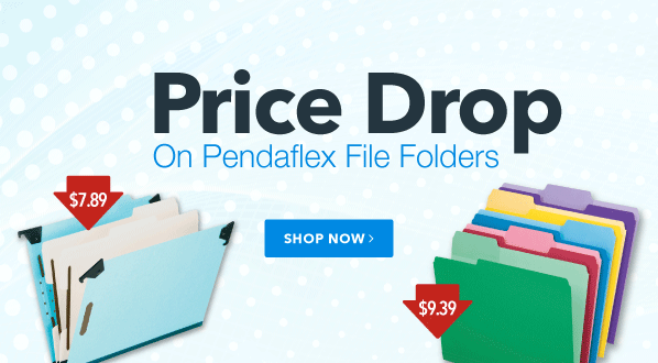 Price Drop on Pendaflex