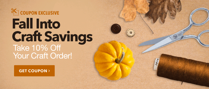 Fall into Craft Savings