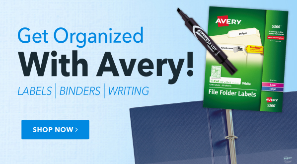 Get Organized with Avery