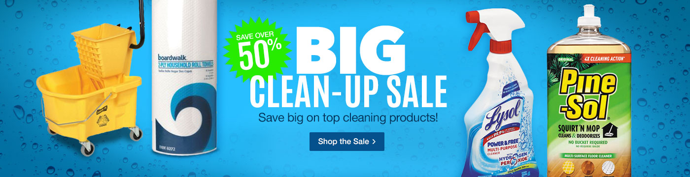 Big Clean-Up Sale