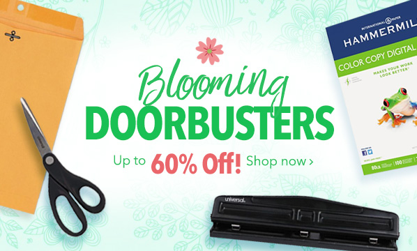 Blooming Doorbusters