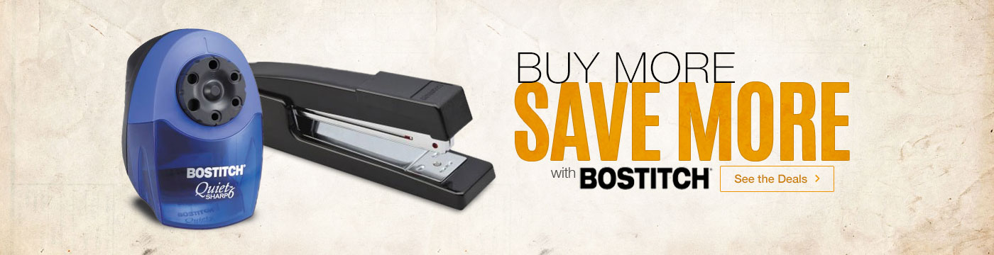 Buy More, Save More with Bostitch