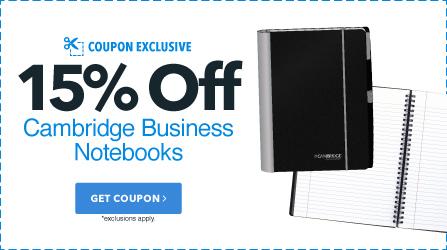 Cambridge Notebooks