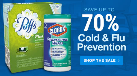 70% Off Cold and Flu