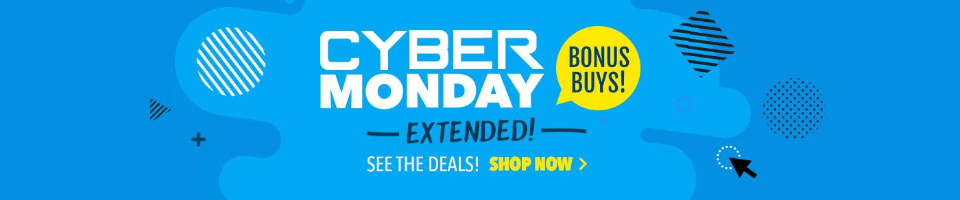 Extended Cyber Monday Bonus Buys