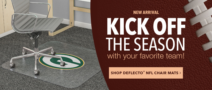 NFL Deflecto Chair Mats