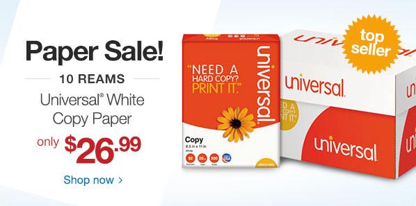 Paper Sale!