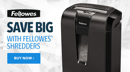 Fellowes Shredders on Sale