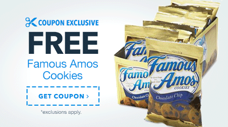 Free Famous Amos Cookies
