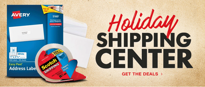 Holiday Shipping Center
