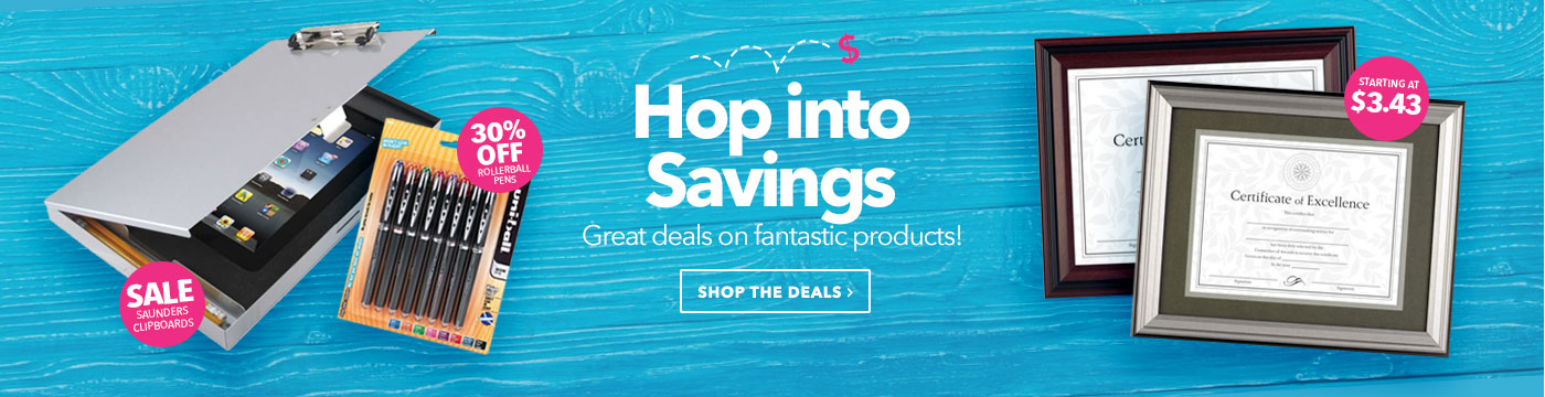 Hop into Savings