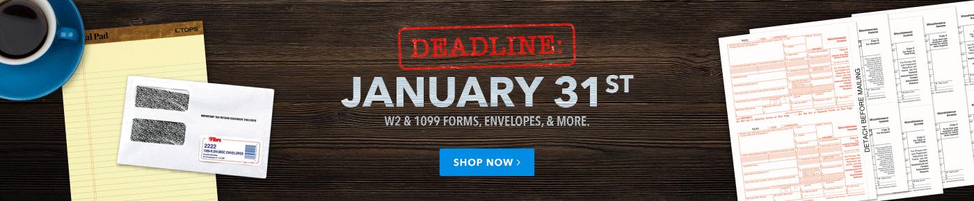 Tops Deadline