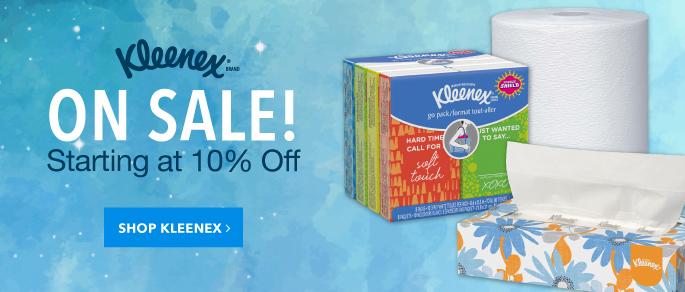 Kleenex Sale