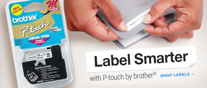 Label Smarter with P-Touch