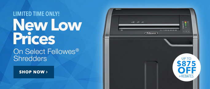 New Low Prices on Fellowes