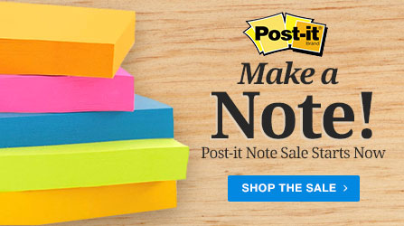 Make a Note - Post-it Note Sale