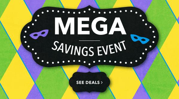 Mega Savings Event