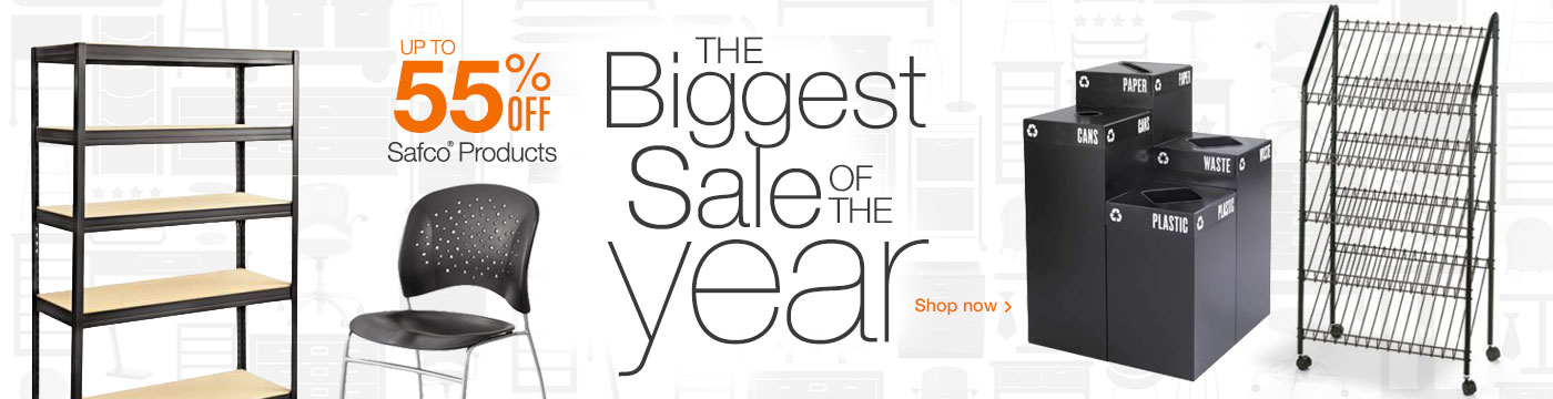 Safco Sale - The Biggest Sale of the Year