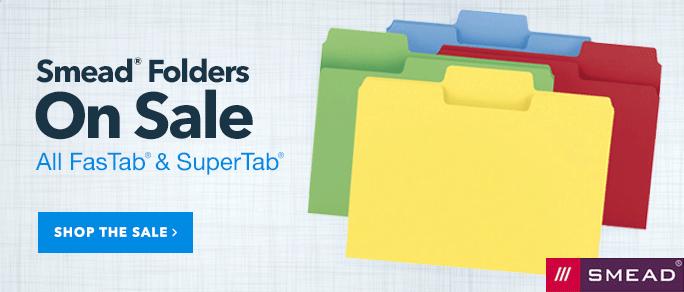 smead folder sale